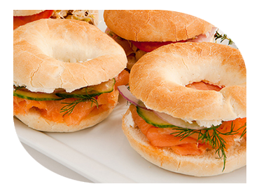 bagels catering companies london