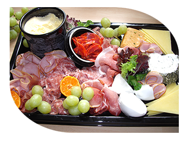 cold fork buffet antipasti platters