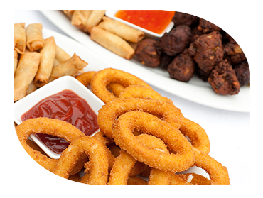 fried food savoury catering london