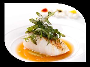 Fish platter hot fork buffet