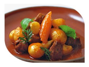 Hot fork lamb buffets