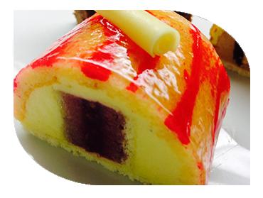 rasberry mousse dessert