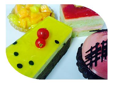 passion fruit tart dessert