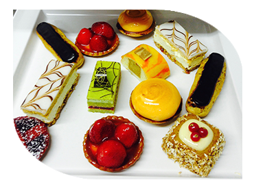 selection of petit four
