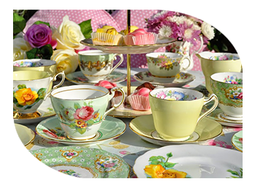 vintage afternoon tea catering