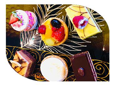 sharing platters-desserts