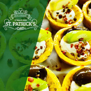 st patrick's catering