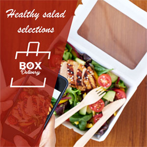 healthy catering delivery
