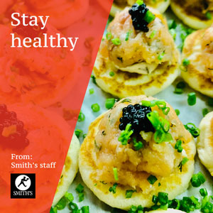healthy canapes catering