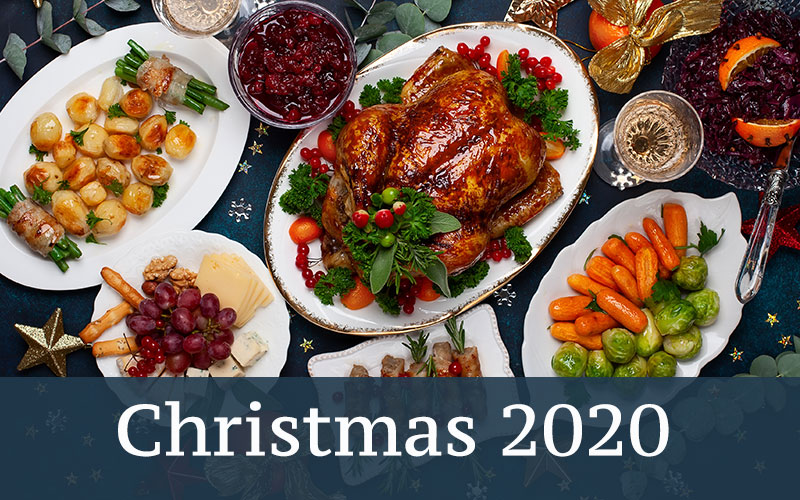 Christmas dinner 2020 in London